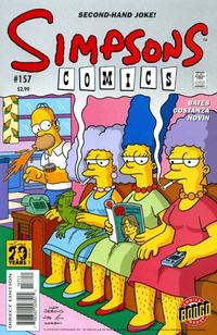 Cover Thumbnail for Simpsons Comics (Bongo, 1993 series) #157
