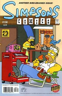 Cover Thumbnail for Simpsons Comics (Bongo, 1993 series) #158