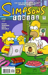 Cover Thumbnail for Simpsons Comics (Bongo, 1993 series) #159