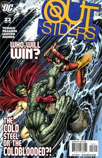 Cover Thumbnail for The Outsiders (DC, 2009 series) #23
