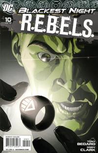 Cover Thumbnail for R.E.B.E.L.S. (DC, 2009 series) #10