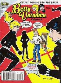 Cover Thumbnail for Betty and Veronica Comics Digest Magazine (Archie, 1983 series) #196 [Direct Edition]