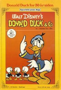 Cover Thumbnail for Donald Duck for 30 år siden (Hjemmet / Egmont, 1978 series) #1/1978