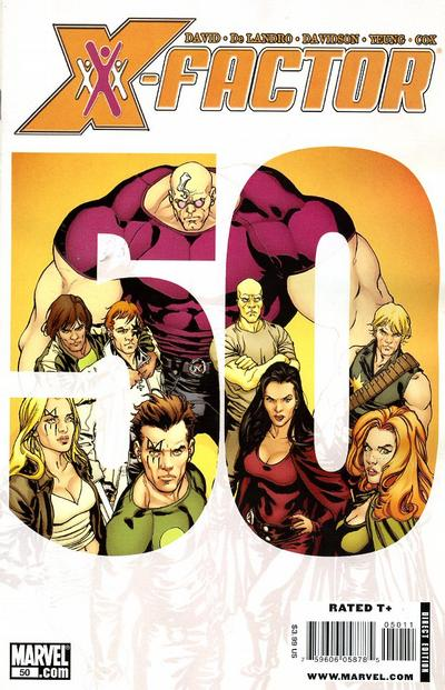 Cover for X-Factor (Marvel, 2006 series) #50
