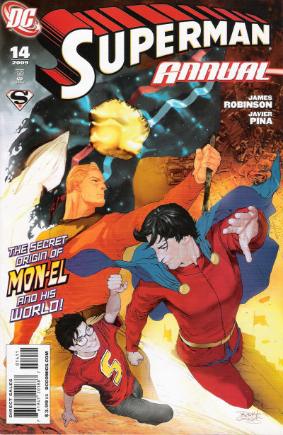 Cover for Superman Annual (DC, 2008 series) #14