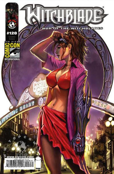 Cover for Witchblade (Image, 1995 series) #128
