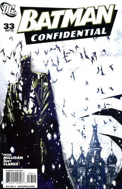 Cover for Batman Confidential (DC, 2007 series) #33