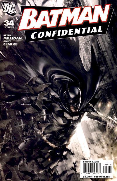 Cover for Batman Confidential (DC, 2007 series) #34