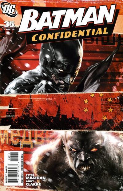 Cover for Batman Confidential (DC, 2007 series) #35