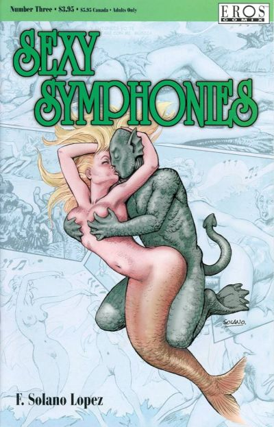 Cover for Sexy Symphonies (Fantagraphics, 2001 series) #3