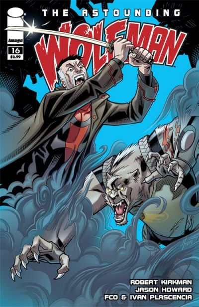 Cover for The Astounding Wolf-Man (Image, 2007 series) #16