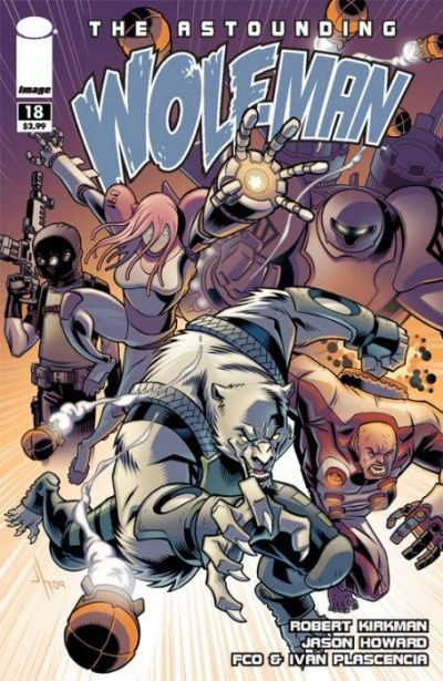 Cover for The Astounding Wolf-Man (Image, 2007 series) #18