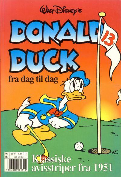 Cover for Donald Duck Fra Dag Til Dag (Hjemmet / Egmont, 1987 series) #14
