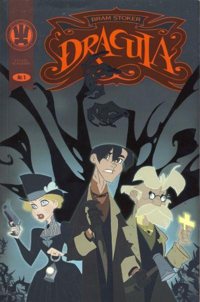 Cover for Action klassiker (Fortellerforlaget, 2009 series) #1 - Dracula