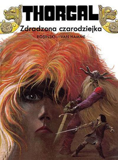 Cover for Thorgal (Egmont Polska, 1994 series) #1 - Zdradzona czarodziejka