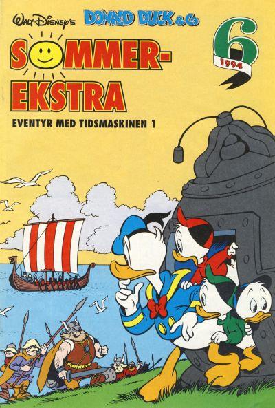 Cover for Donald Duck & Co Ekstra [Bilag til Donald Duck & Co] (Hjemmet / Egmont, 1985 series) #6/1994