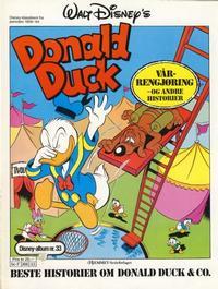 Cover Thumbnail for Walt Disney's Beste Historier om Donald Duck & Co [Disney-Album] (Hjemmet / Egmont, 1978 series) #33 - Vårrengjøring