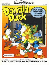 Cover Thumbnail for Walt Disney's Beste Historier om Donald Duck & Co [Disney-Album] (Hjemmet / Egmont, 1978 series) #37 - Den rare papegøyen