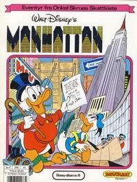 Cover Thumbnail for Walt Disney's Beste Historier om Donald Duck & Co [Disney-Album] (Hjemmet / Egmont, 1978 series) #41 - Manhattan
