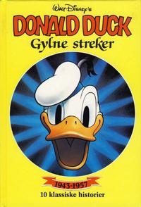 Cover Thumbnail for Donald Duck bøker [Gullbøker] (Hjemmet / Egmont, 1984 series) #[1989] - Gylne streker