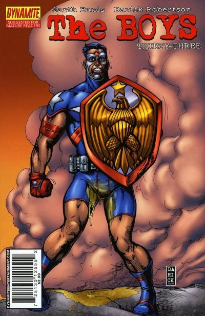 Cover for The Boys (Dynamite Entertainment, 2007 series) #33