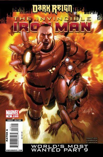 Cover for Invincible Iron Man (Marvel, 2008 series) #16
