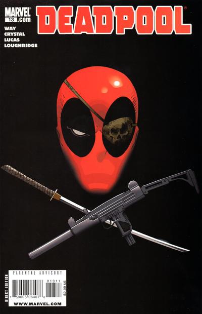 Cover for Deadpool (Marvel, 2008 series) #13