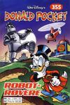 Cover for Donald Pocket (Hjemmet / Egmont, 1968 series) #355 - Robotrøvere [1. opplag]