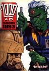 Cover for 2000 AD Yearbook (Fleetway Publications, 1991 series) #1993