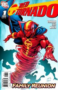 Cover Thumbnail for Red Tornado (DC, 2009 series) #1