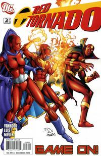 Cover for Red Tornado (DC, 2009 series) #3