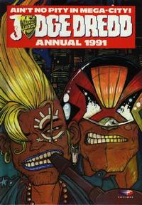 Cover Thumbnail for Judge Dredd Annual (Fleetway Publications, 1988 series) #1991