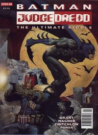 Cover Thumbnail for Batman / Judge Dredd: The Ultimate Riddle (Fleetway Publications, 1995 series)
