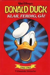 Cover Thumbnail for Donald Duck bøker [Gullbøker] (Hjemmet / Egmont, 1984 series) #[1995] - Klar, ferdig, gå!