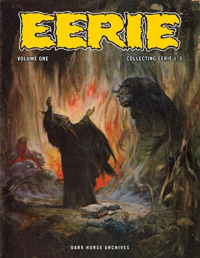Cover for Eerie Archives (Dark Horse, 2009 series) #1