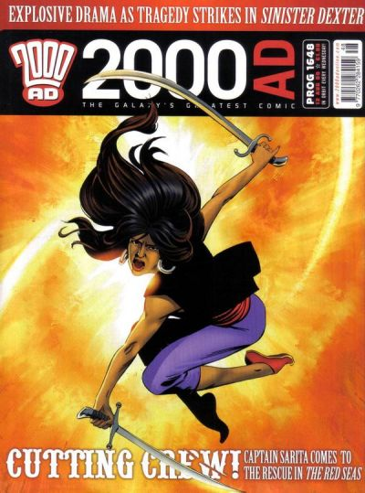 Cover for 2000 AD (Rebellion, 2001 series) #1648