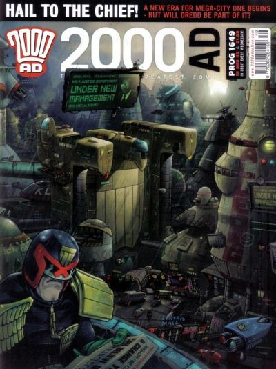 Cover for 2000 AD (Rebellion, 2001 series) #1649