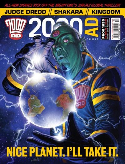 Cover for 2000 AD (Rebellion, 2001 series) #1650