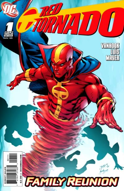 Cover for Red Tornado (DC, 2009 series) #1