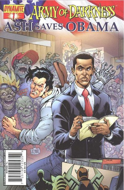 Cover for Army of Darkness: Ash Saves Obama (Dynamite Entertainment, 2009 series) #1