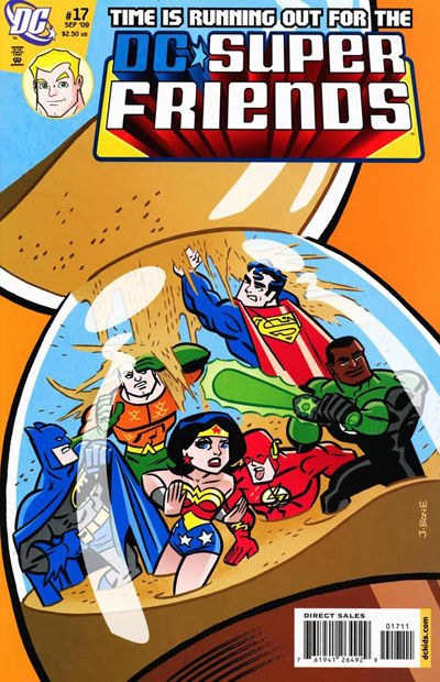 Cover for Super Friends (DC, 2008 series) #17