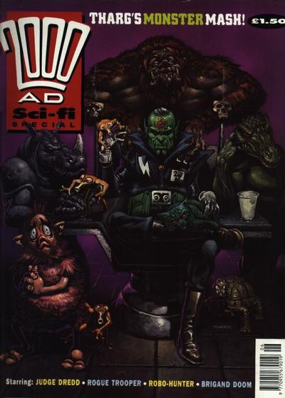 Cover for 2000 AD Sci-Fi Special (Fleetway Publications, 1988 series) #1991