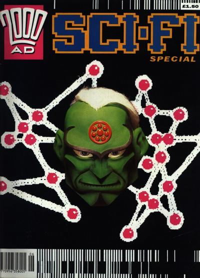 Cover for 2000 AD Sci-Fi Special (Fleetway Publications, 1988 series) #1992