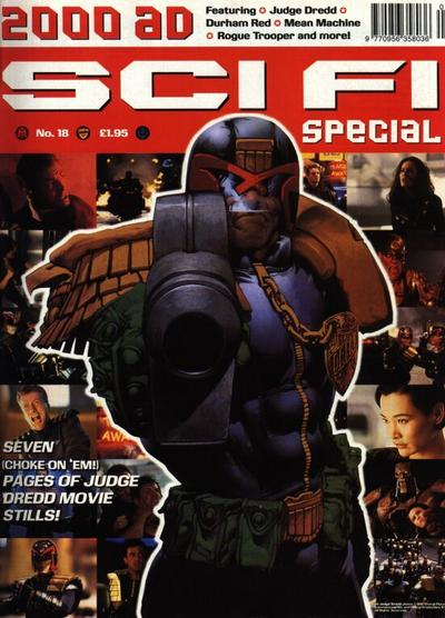 Cover for 2000 AD Sci-Fi Special (Fleetway Publications, 1988 series) #1995
