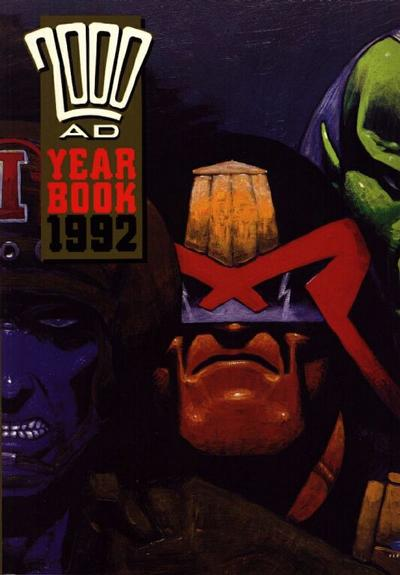 Cover for 2000 AD Yearbook (Fleetway Publications, 1991 series) #1992
