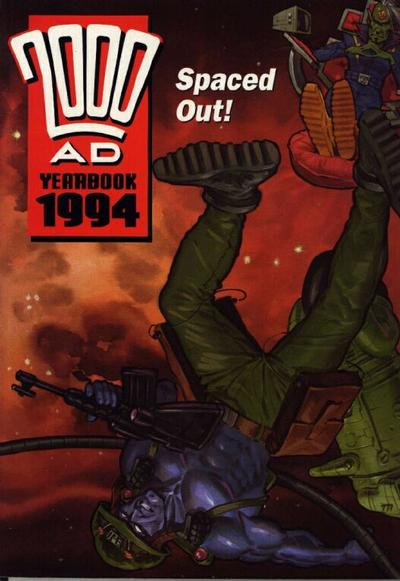 Cover for 2000 AD Yearbook (Fleetway Publications, 1991 series) #1994