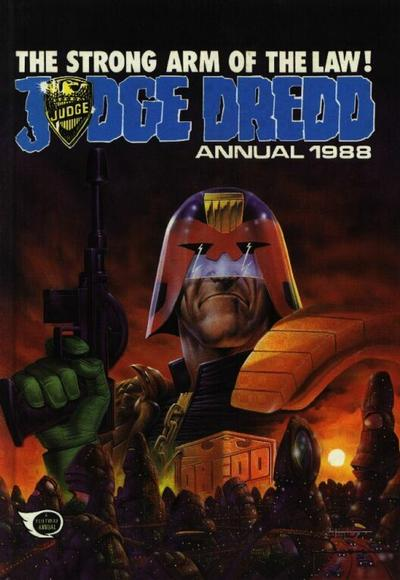 Cover for Judge Dredd Annual (Fleetway Publications, 1988 series) #1988