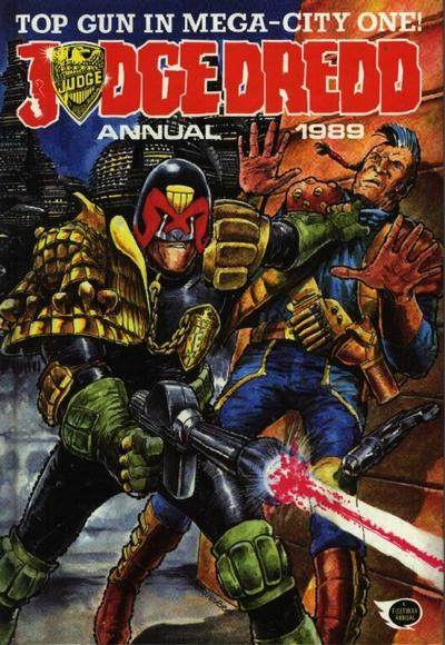 Cover for Judge Dredd Annual (Fleetway Publications, 1988 series) #1989