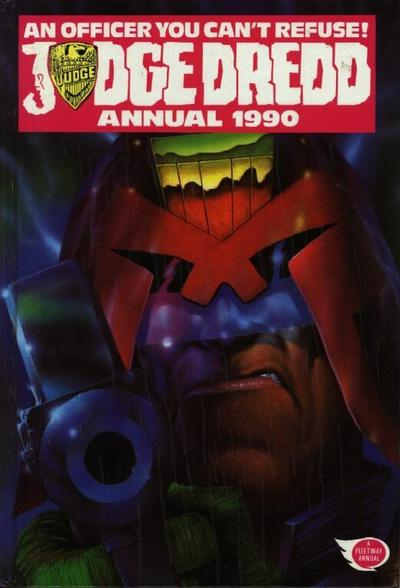 Cover for Judge Dredd Annual (Fleetway Publications, 1988 series) #1990