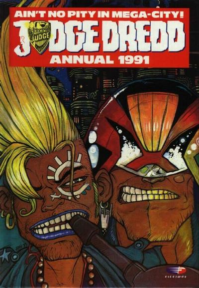Cover for Judge Dredd Annual (Fleetway Publications, 1988 series) #1991